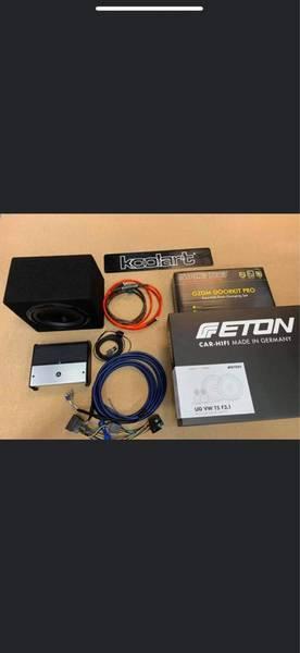 Bilde av JL oppgraderings pakke inkl/front høytalere VW T5
